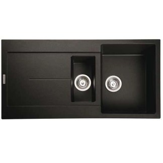 Black Kitchen Sink 1.5 Bowl Scoria