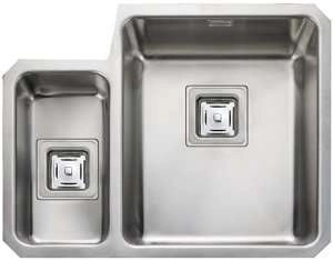 undermount Sink, 1.5 Bowl, Rangemaster Atlantic Quad QUB3416