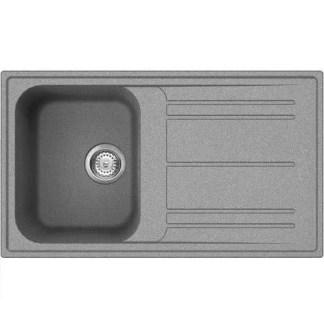Sink Single Bowl Smeg Rigae LZ861 Grey