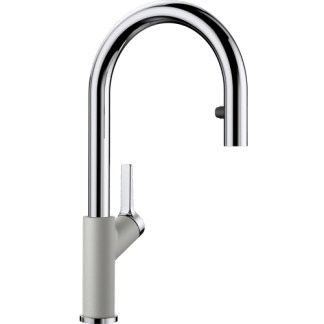 Kitchen Mixer Tap Blanco Carena-s Pearl Grey