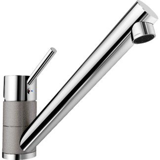 Kitchen Mixer Tap Blanco Peak Alu metallic