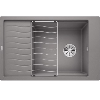 Kitchen Sink Blanco Elon xl 6 s Alu metallic