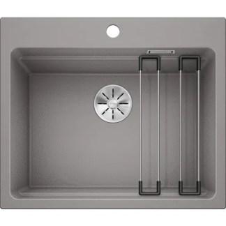 Kitchen Sink Blanco Etagon 6 Alu metallic