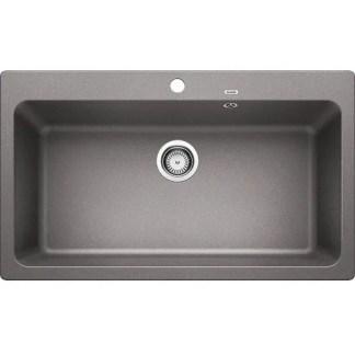 Kitchen Sink Blanco Naya XL 9 Alu metallic