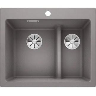 Kitchen Sink Blanco Pleon 6 Alu metallic