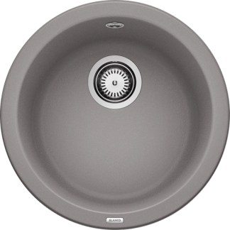 Kitchen Sink Blanco Rondo Alu metallic