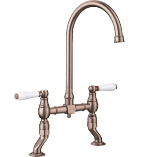 Bridge Taps Blanco Vicus Brushed Copper