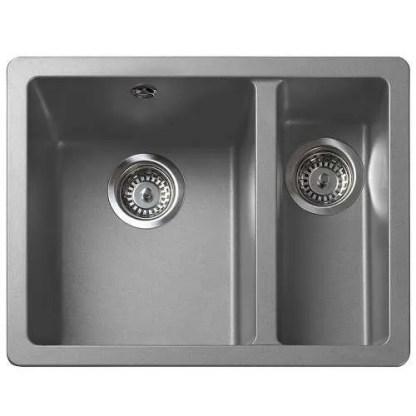 Dove grey Sink 1.5 Bowl Paragon Igneous