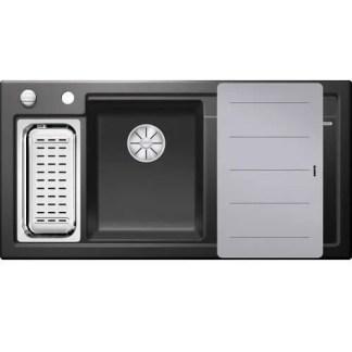 Ceramic Kitchen Sinks Blanco AXON II 6 S Black