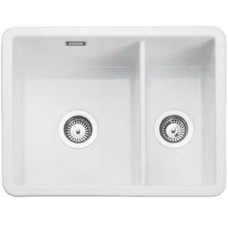 Sink, Ceramic, 1.5 Bowl, Rangemaster CRUB3216