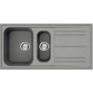 Sink, 1.5 Bowl Smeg LZ861 Grey