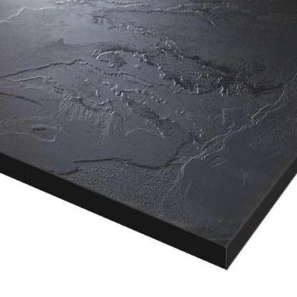 Slimline Worktops Black Slate