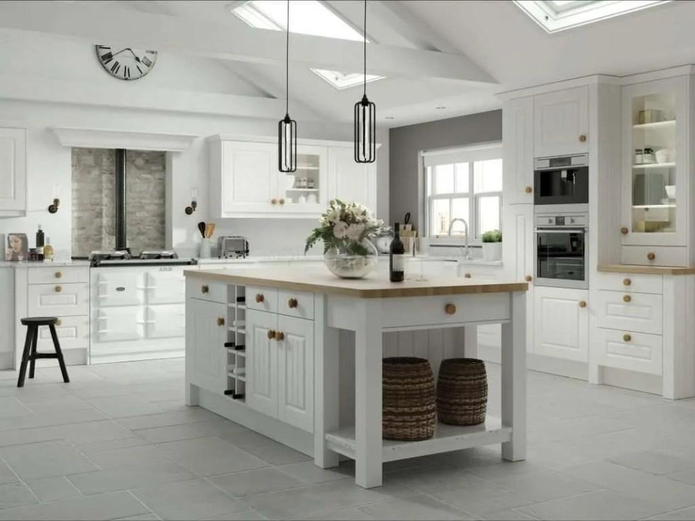 Amalfi Legno White Kitchen