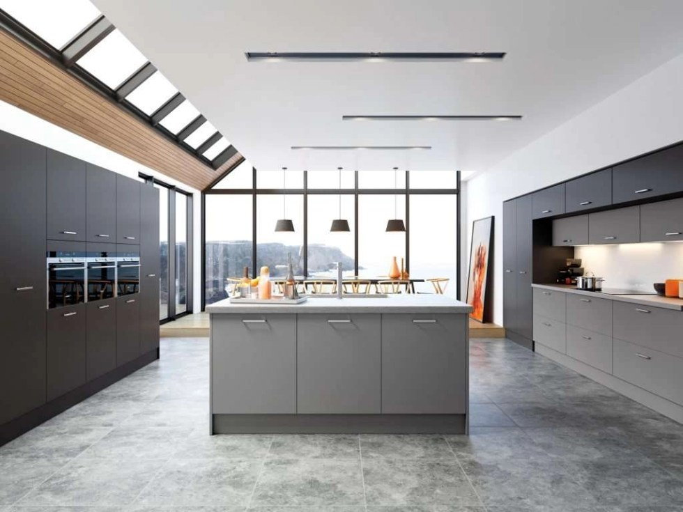 Cutler SERICA® Dust Grey Kitchen