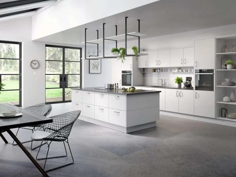 Cutler SERICA® White Grey kitchen