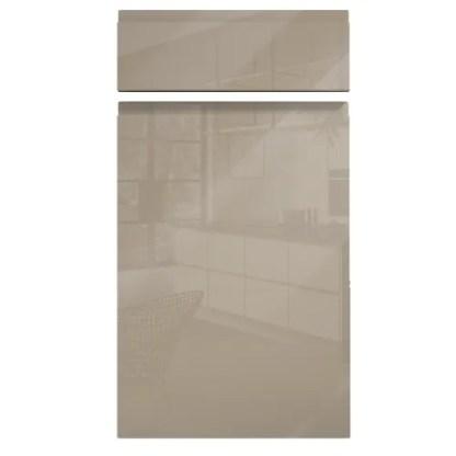 Handleless Cabinet Doors Kassel Gloss Dakar