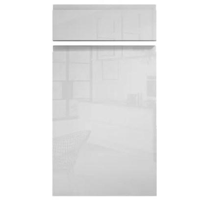 Handleless Cabinet Doors Kassel Gloss White