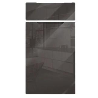 Orion Handleless Cabinet Doors Gloss Graphite