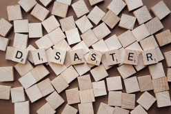 Disaster spelled out