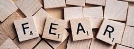 Fear in scrabble tiles via pixabay