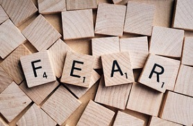 Fear in scrabble tiles via pixabay