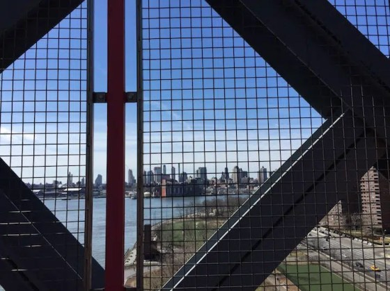 Williamsburg bridge view
