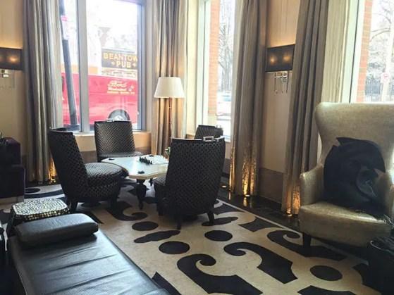 Nine Zero lounge