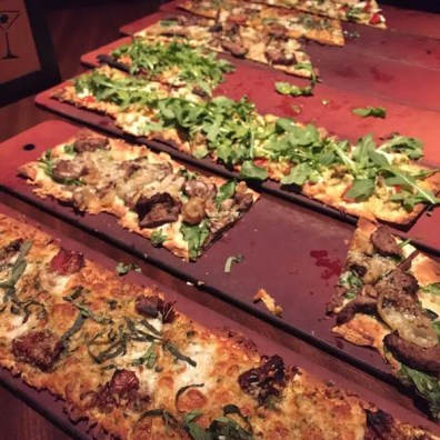 Flatbreads: I can't pick one favorite, they're all great.