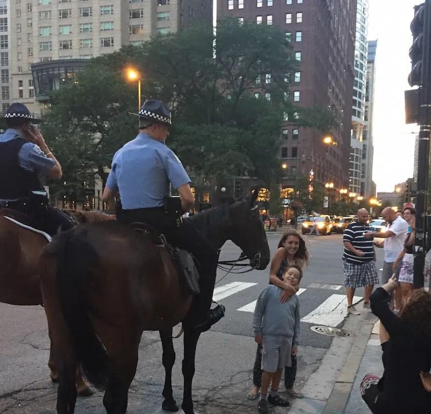 Meeting Chicago cops
