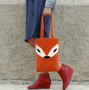 Sir Fox tote bag