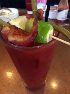 Ruby Slipper's bloody mary is epic!