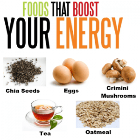 Bost your energy