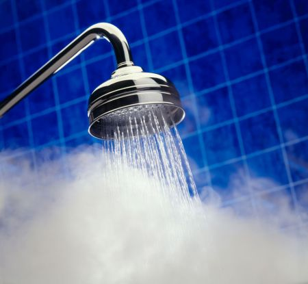 A warm shower is all it takes