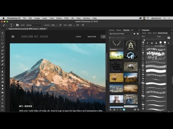 Adobe Photoshop CC 2018 Mac OS free download