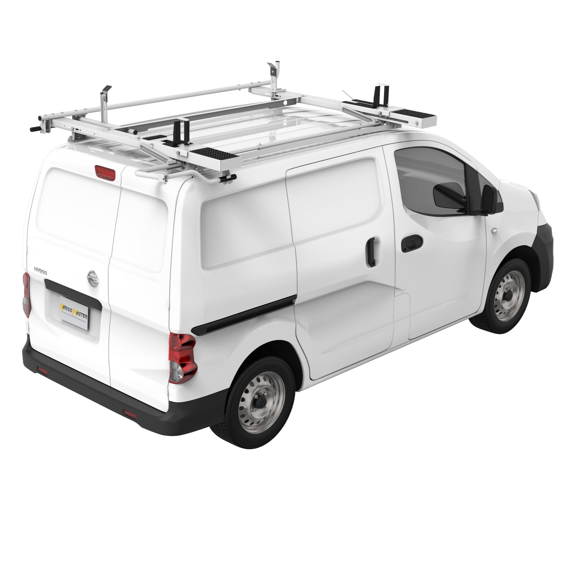 drop down ladder rack for compact vans including metris