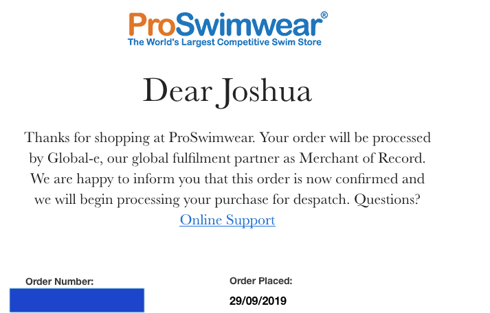 Proswimwear store review