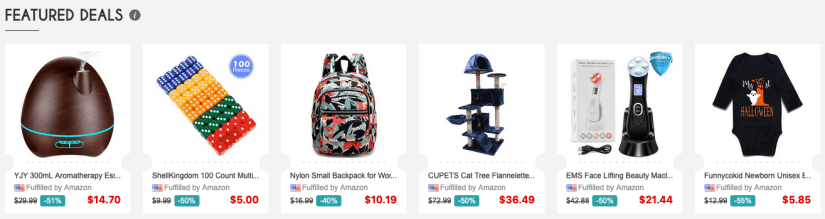 Free or discounted items on Vipon