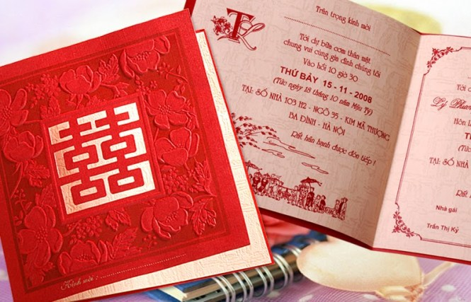 We Request The Honor Of Your Presence Work With Vietnamese