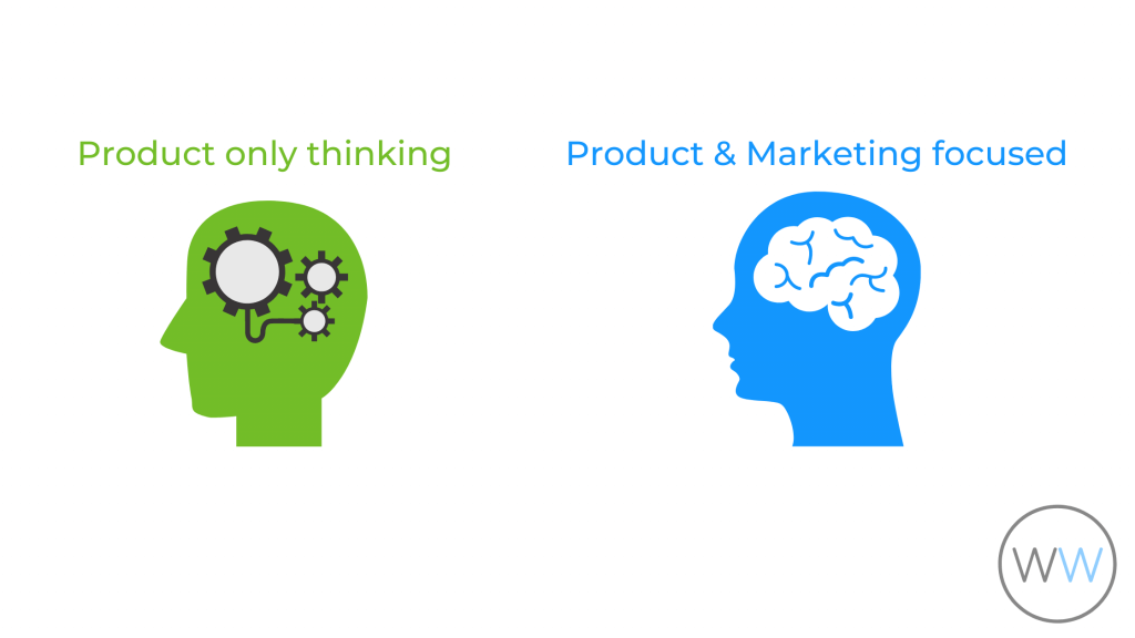 building your product and marketing it