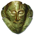 Agamemnon's death mask
