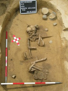 The grave of the 'metalworker'. IMage: Austrian Museum of Ancient History