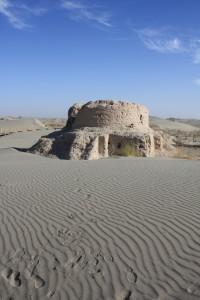 Gretchen Hall-Rawak-Buddhist-stupa-China
