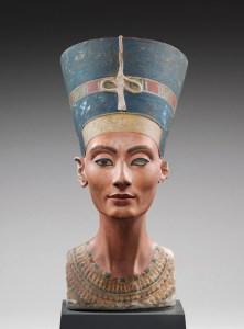 The celebrated bust of Nefertiti. Image: Neuses Museum