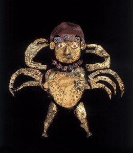 The 'octopus' shield from the tomb of the Old Lord.