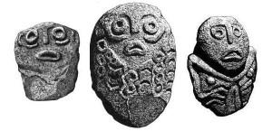 Sculpted ritual heads