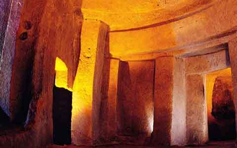 Malta Hal Saflieni hypogeum, Great excavations - CWA 63