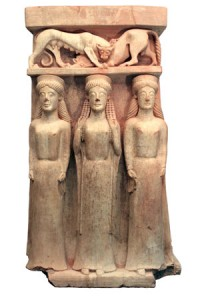 Terracotta-altar-with-three-women