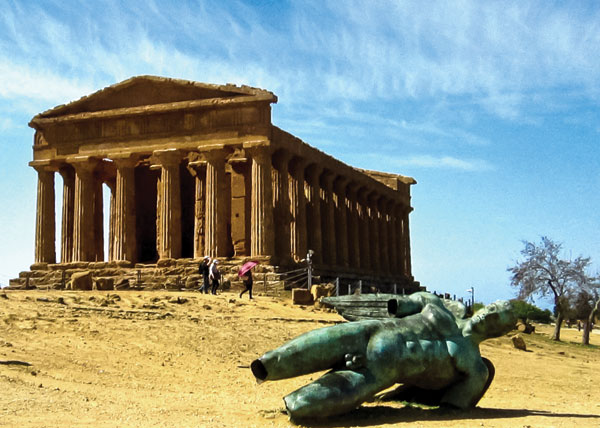 The Temple of Concordia (5th century BC) is one of the best preserved Doric temples in the world.
