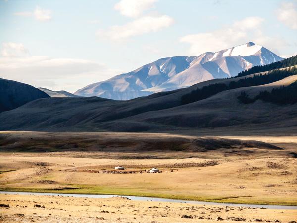 Southern Siberian landscape