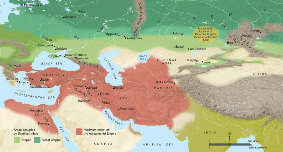Where Is Siberia On A World Map.The Scythians Discovering The Nomad Warriors Of Siberia World